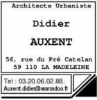 Didier  AUXENT - Architecte urbaniste